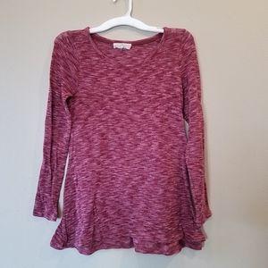 Women's Pink Republic tunic sweater size medium